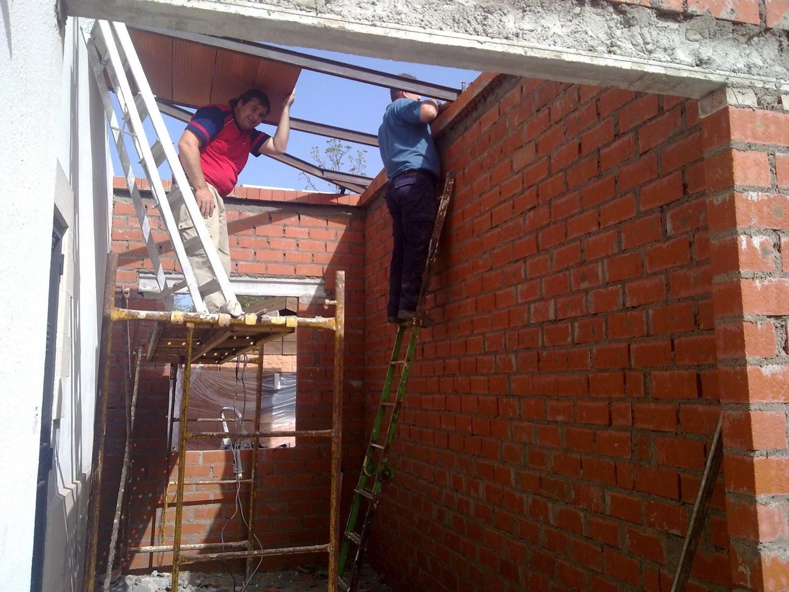 El maestro de obras xavier valderas construir un muro de for Construir una pileta de ladrillos