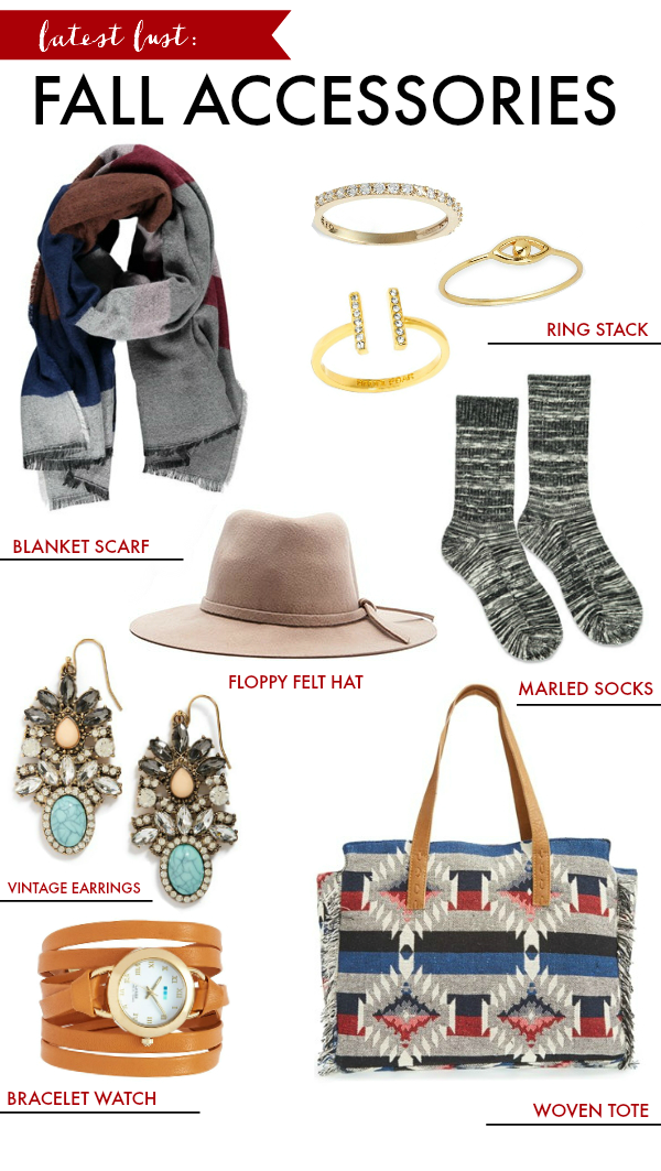 Latest Lust: Fall Accessories