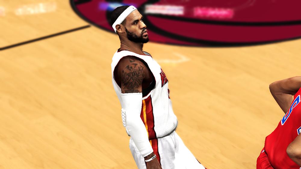 NBA 2K14 LeBron James Next-Gen
