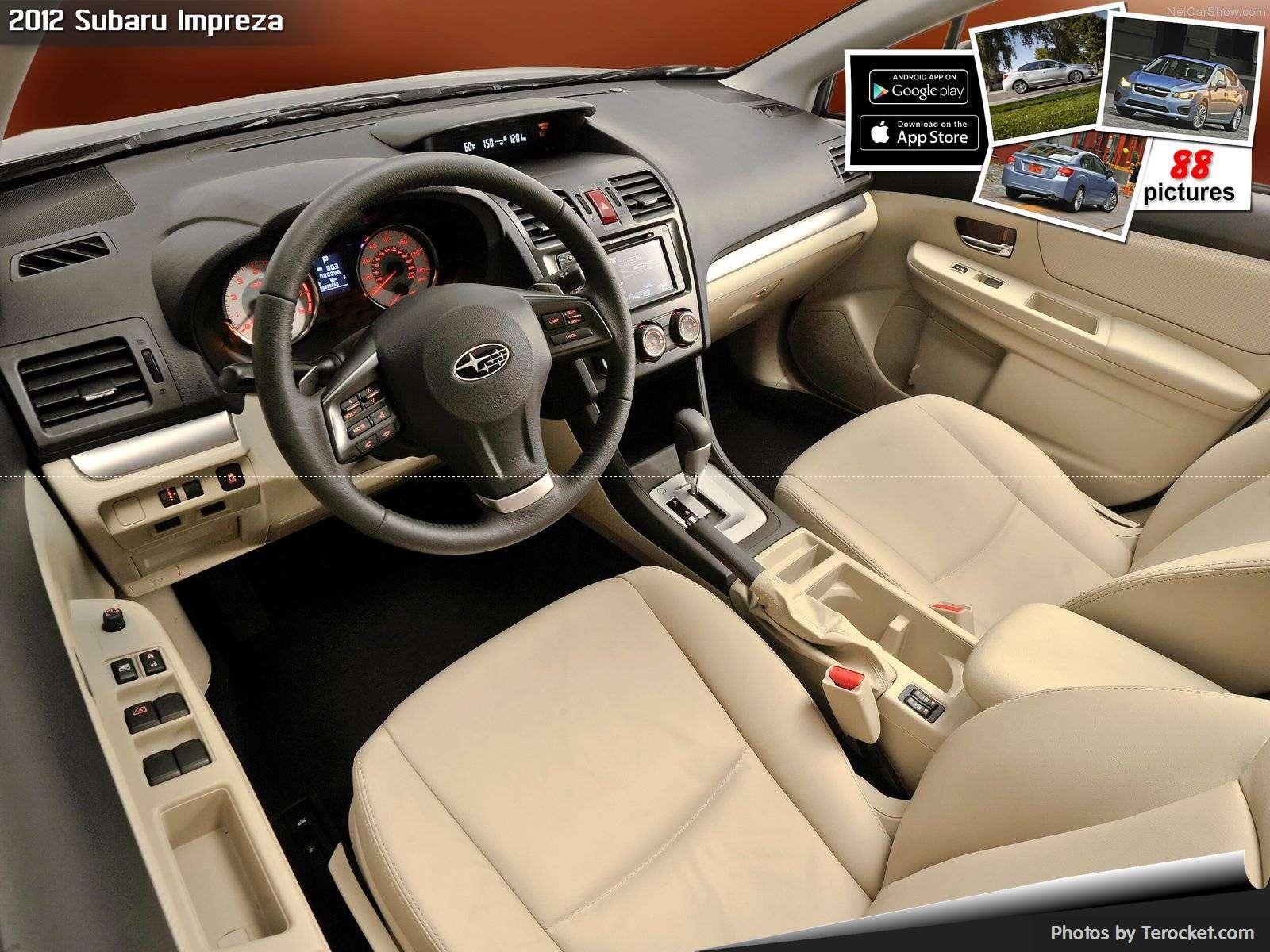 Hình ảnh xe ô tô Subaru Impreza 2012 & nội ngoại thất