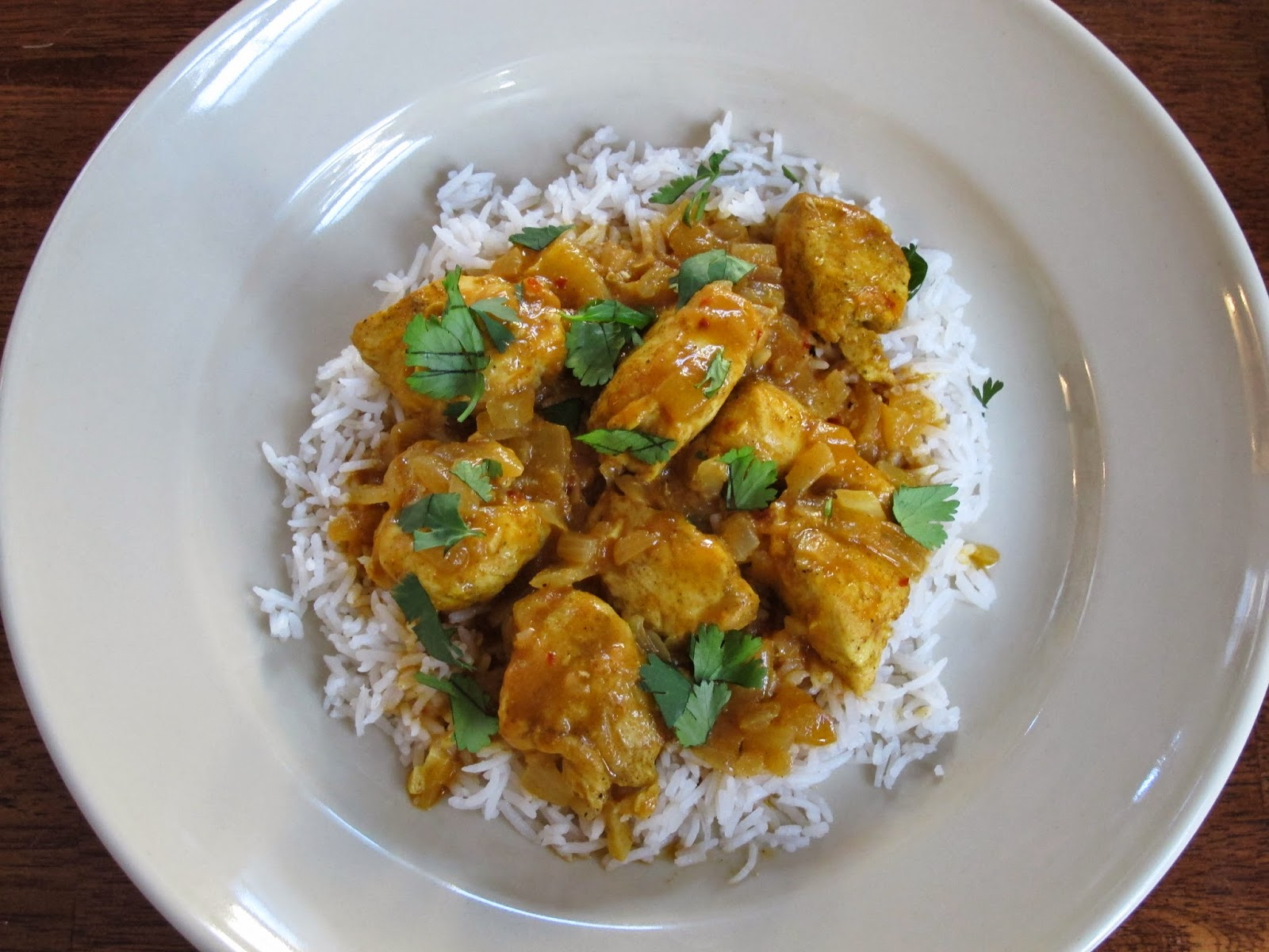 Easy Curry Coconut Chicken