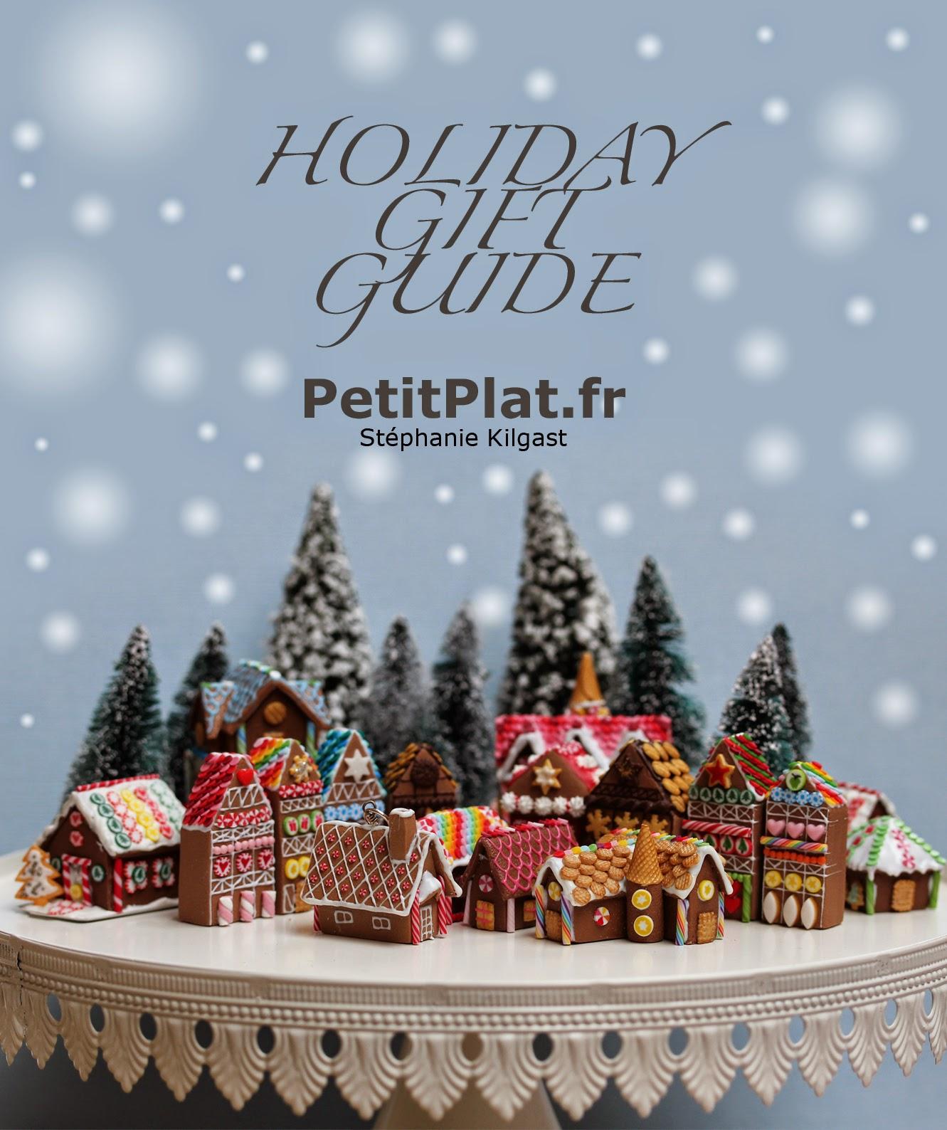 PetitPlat Miniatures, Holidays Gift Guide, Christmas 2014
