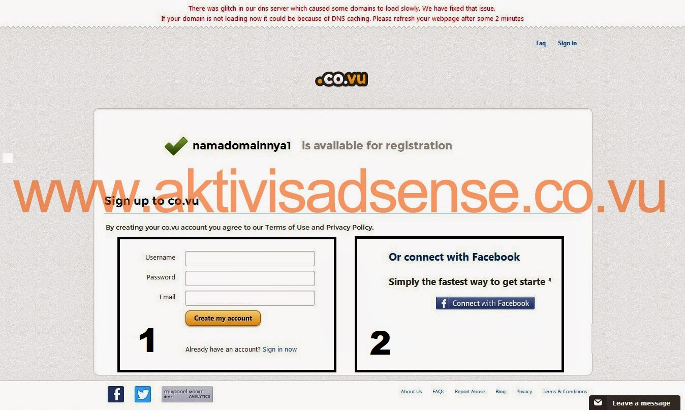 Domain Gratis Dari .Co.vu