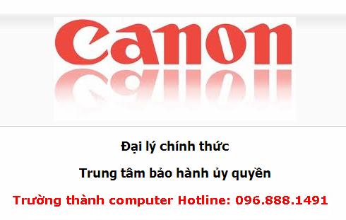 Đổ mực máy in canon tại nhà Hà Nôi