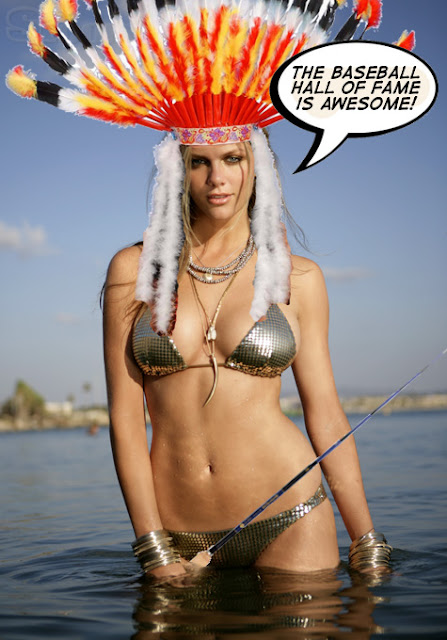 brooklyn decker beautiful native american woman trout rigs tenkara baseball hall of fame awesome troutrageous