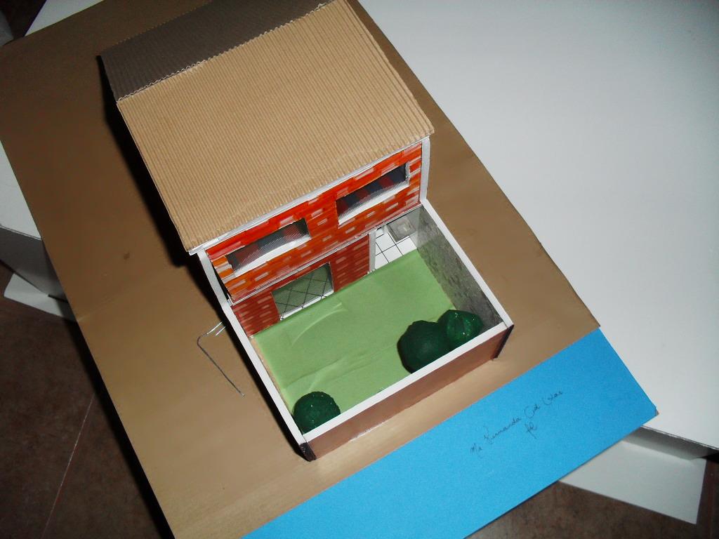Yo Estudio Arquitectura Maqueta Con Acabados