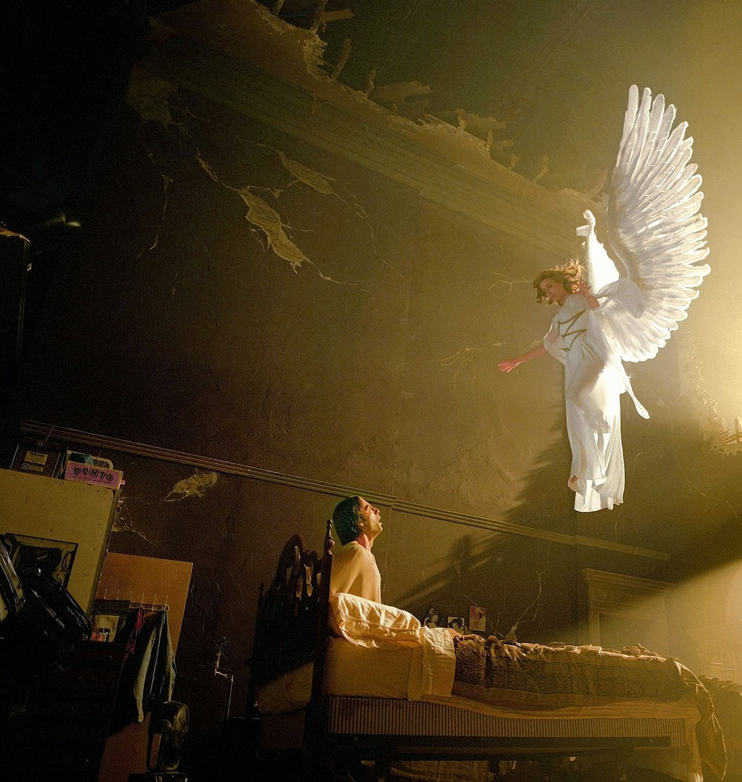 The ultimate angel, or messenger, of the Lord would have to be Jesus