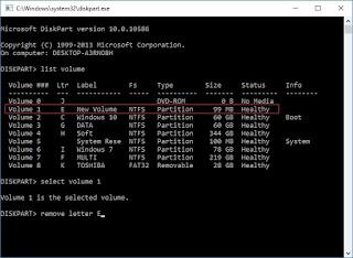 Cara Sembunyikan Drive di Windows 10