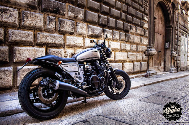 Honda CBX750F2 By Shaka Garage