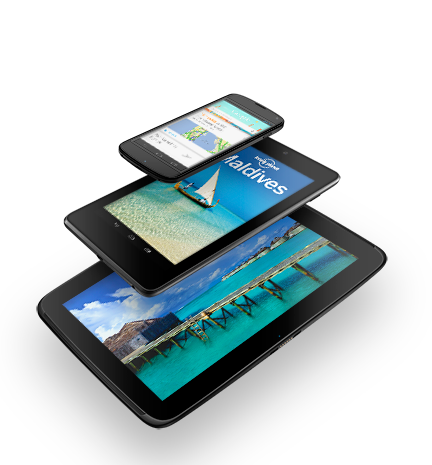 Три устройства Nexus