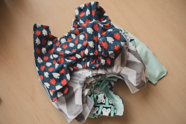 DIY Do it Yourself Flannel Cloth Diapers