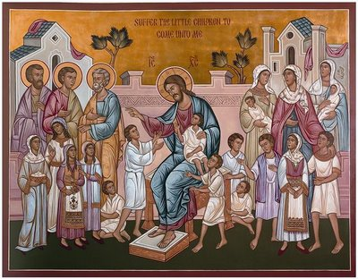 Lăsaţi copiii să vină la Mine şi nu-i opriţi, căci a unora ca aceştia este împărăţia lui Dumnezeu!