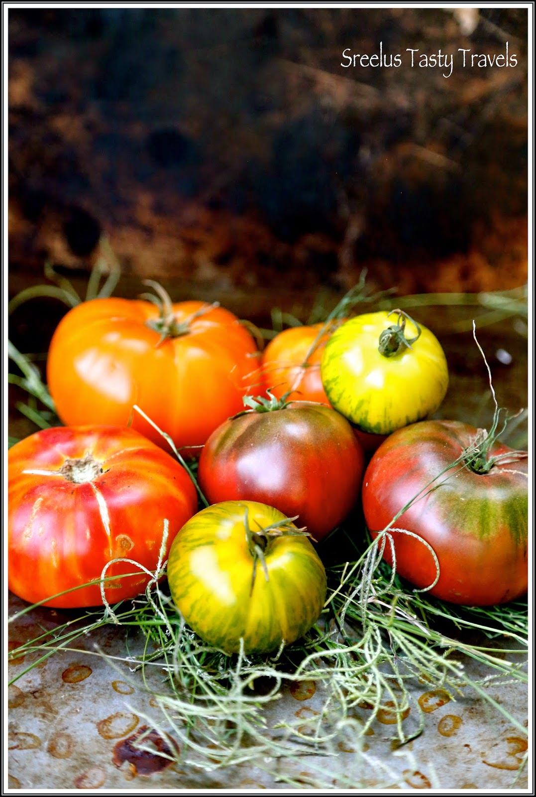 good bye summer- ode to the fruit of summer - tomatoes- easy and delicious sandwiches