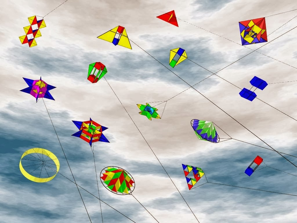Makar Sankranti beautiful pongal kites wallpapers downlaod