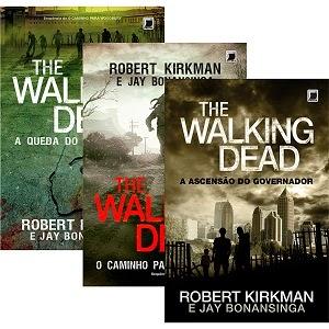 Coleção The Walking Dead   3 Livros