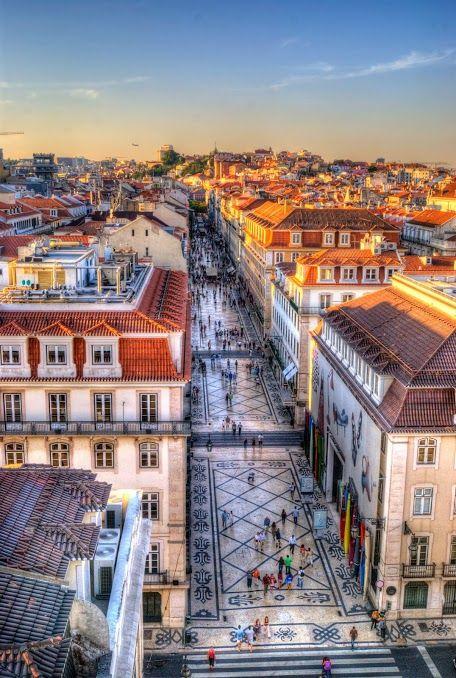 Portugal - Lisboa como nunca a Rua Augusta