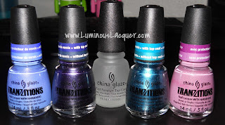 LuminousLacquer.com - China Glaze Tranzitions Collection