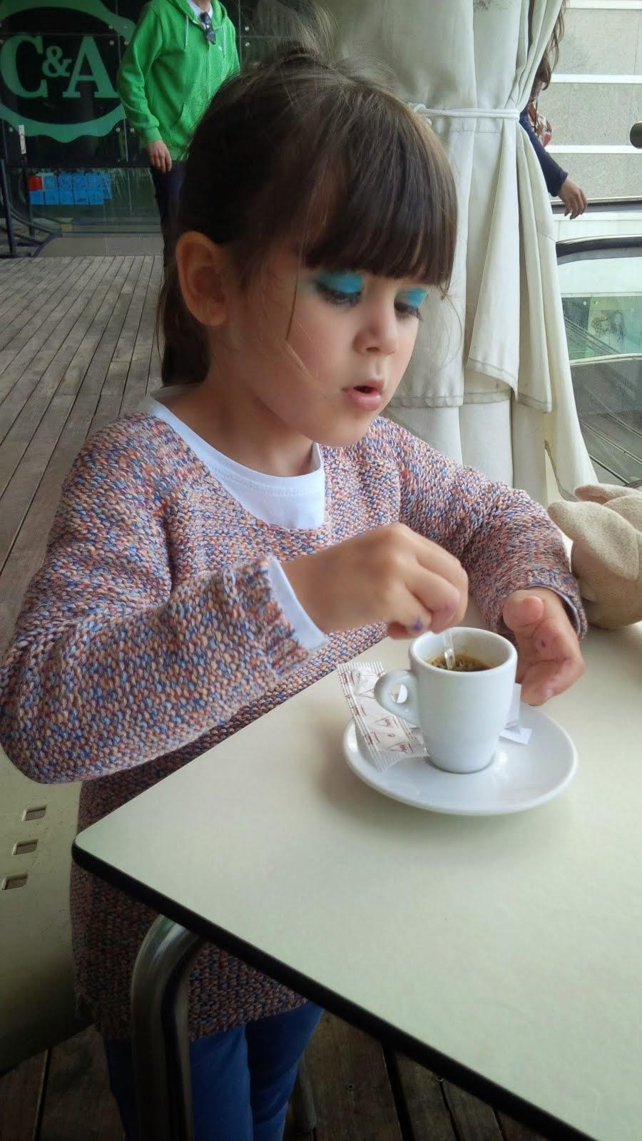 O 1º CAFÉZINHO!
