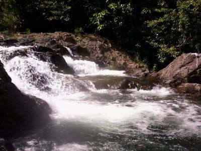 Gabao Falls of san Vicente, Garchotorena, Camarines Sur