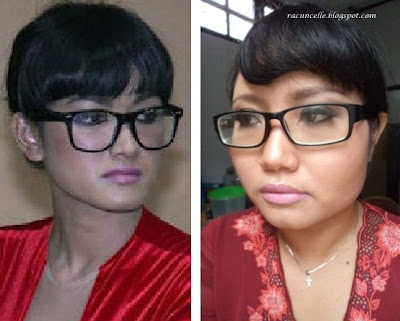 Racun Warna Warni Makeupnista Challenge Celebrity Me Jupe