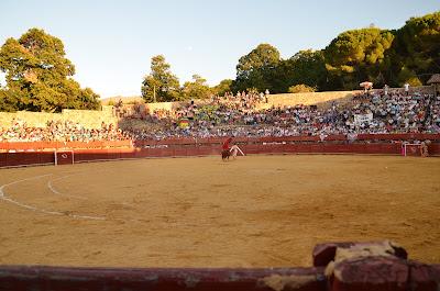 Imagen de un festejo taurino en la plaza de toros de Béjar