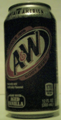 A&W RootBeer Howard Stark can right side