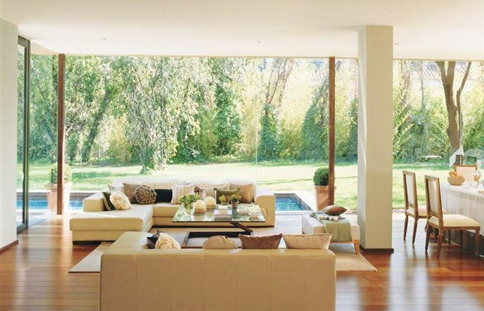 Cococozy people who live in glass houses rock - Amazing floor to ceiling windows design ...