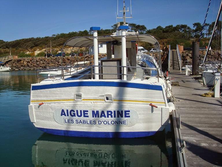 Balades en vendee bateaux et patrimoine l 39 aigue marine - Lycee sainte marie du port les sables d olonne ...