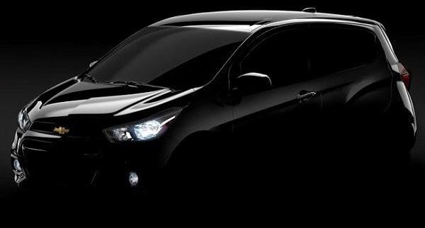 Chevrolet mostró el primer teaser del Spark 2016