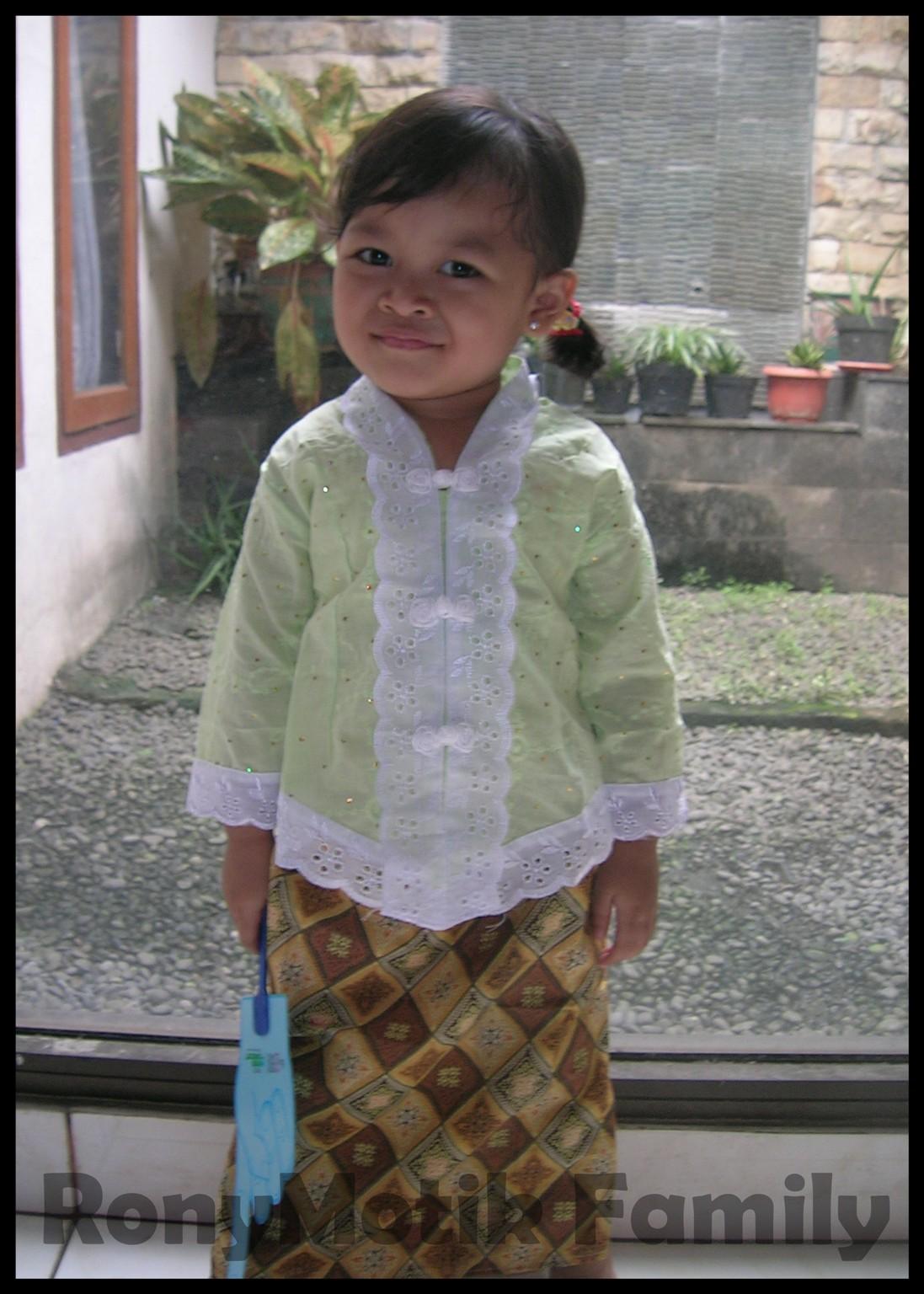 Model Kebaya Modern Anak Kecil
