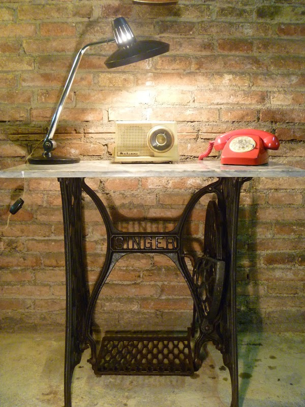 Bricolaje en community decor - Mesa maquina coser singer ...