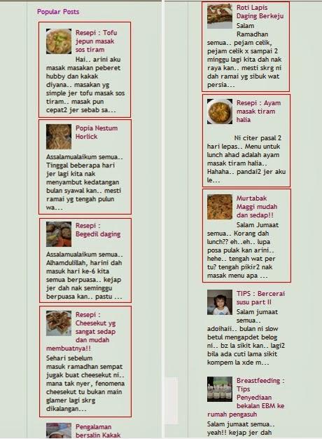 Macam Blog Masakan Pulak..