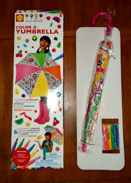 Cute Umbrella Craft for Spring Birthday Party for Kids