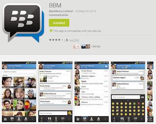 BBM untuk Android iPhone Sudah Resmi Diluncurkan