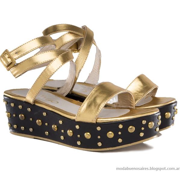 Viamo verano 2014. Sandalias, zapatos y chatitas moda 2014.