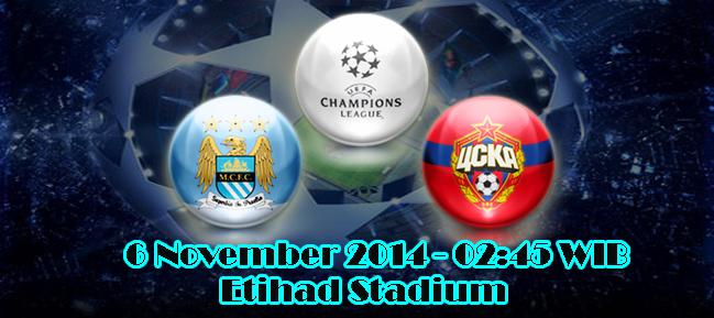 Manchester City Vs CSKA Moscow