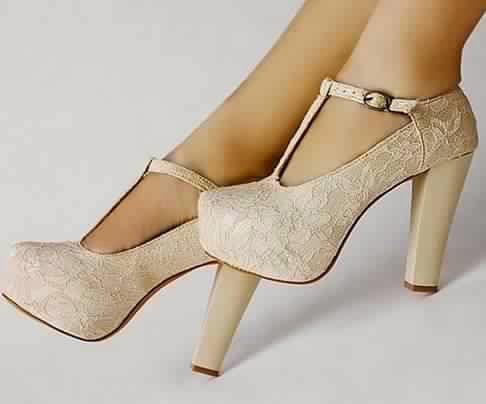 Chaussure mariage femme confortable