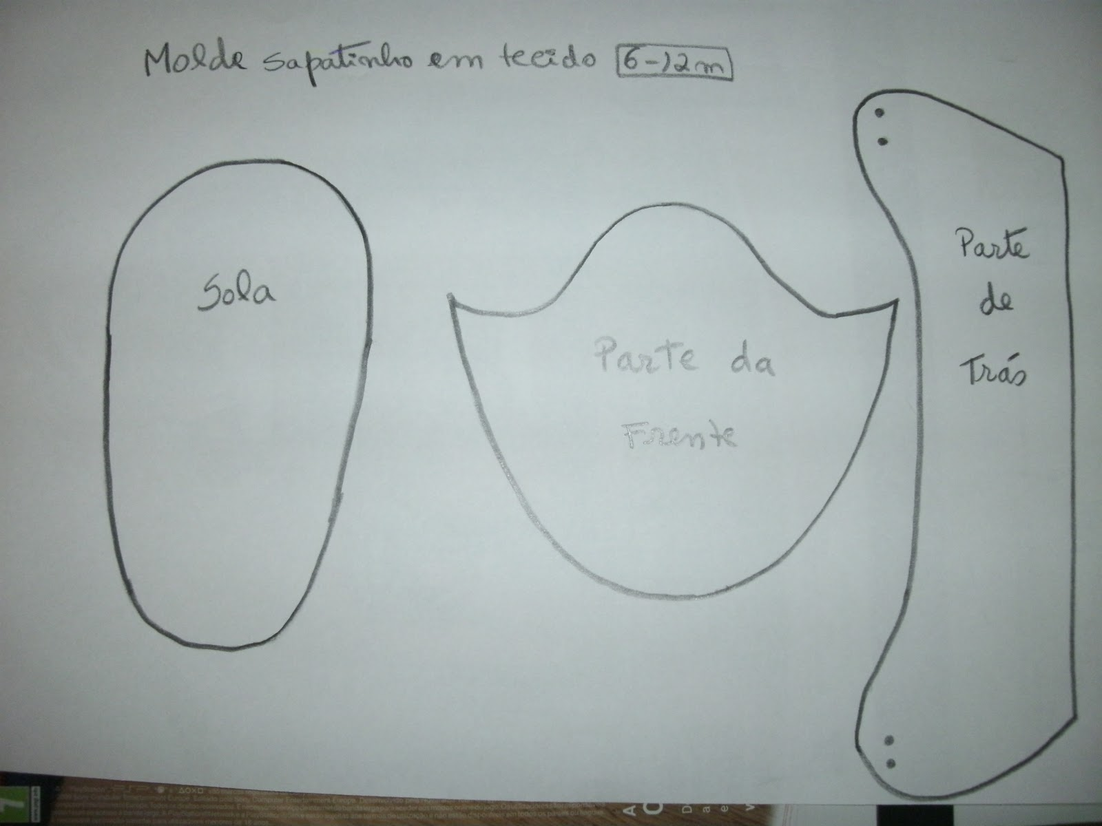 Moldes De Sapatinhos Em Eva Para Cha De Fraldas Wallpapers Real