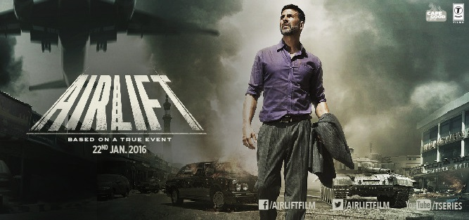 Airlift Movie, Official Trailer, First Look,Poster,Star-Cast, Release Date,Songs, Photos, Videos