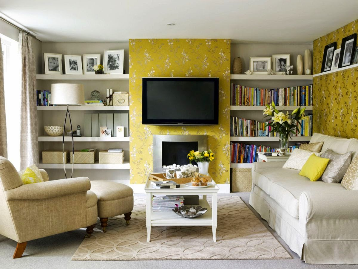 Living room decorating ideas with big screen tv kuovi for Pics of living rooms