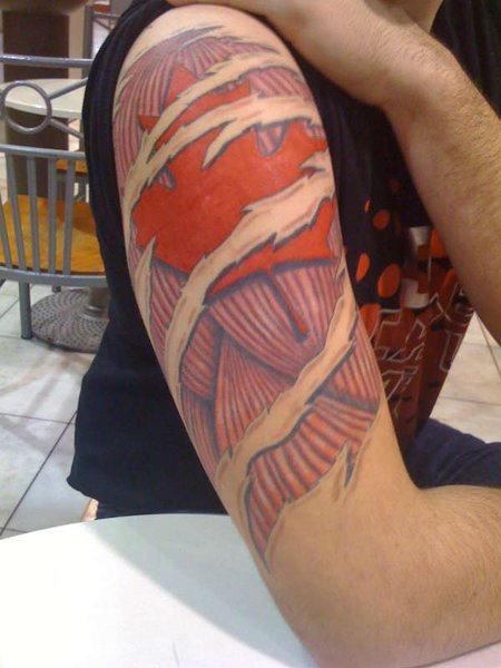 canadian hockey tattoos best art designs