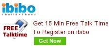 Register on ibibo To Get Free Talktime