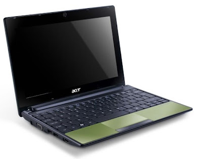 new Acer Aspire One 522 netbook 2011