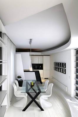 Desain Ruang Makan Modern Apartemen