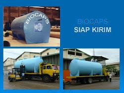Pengolahan air limbah murah BIOCAPS