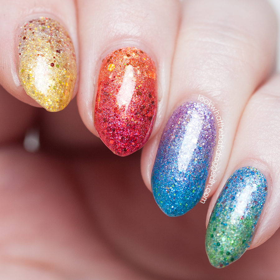 Mckfresh Nail Attire Planeteers polish collection