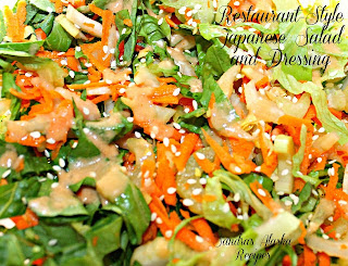 ... Alaska Recipes: SANDRA'S RESTAURANT-STYLE JAPANESE SALAD DRESSING