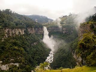 Salto del Tequendama. Foto de Zeafra/Oxigénate