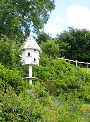 Dovecote among foliage