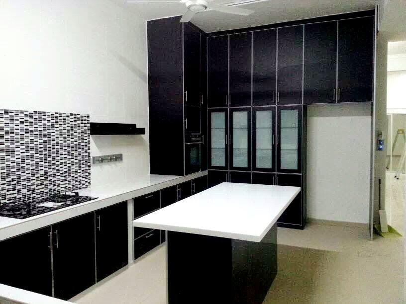 Perkhidmatan mengubahsuai rumah Teraju Utama, kabinet dapur, ubahsuai rumah, Teraju Utama